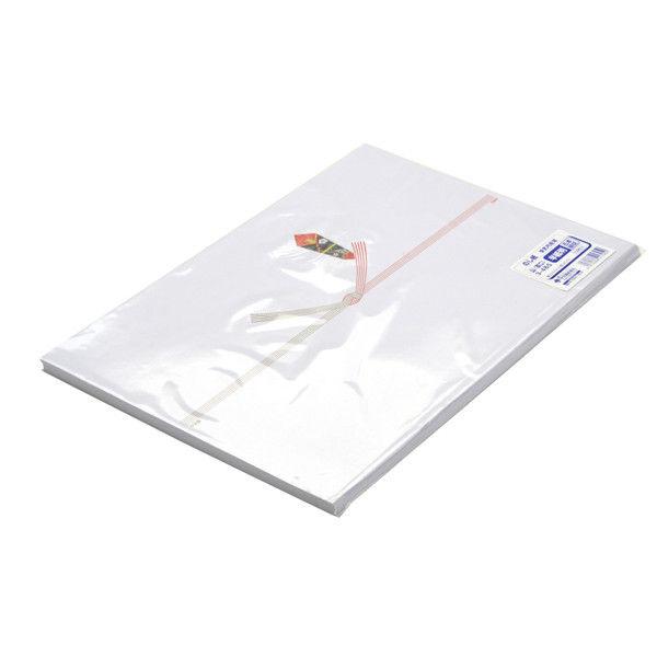 ササガワ タカ印 のし紙 半紙判 五本結切 山 3-485 500枚(100枚袋入×5冊包) (取寄品)