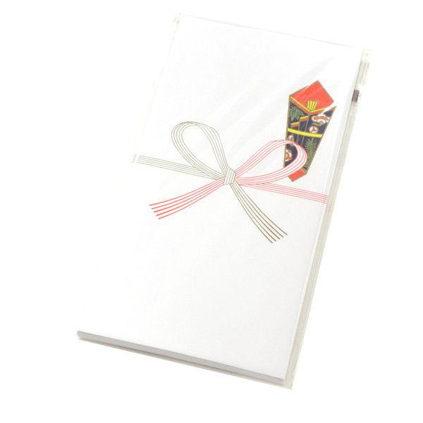 ササガワ タカ印 のし袋 万型 祝 無字 上質紙 5-1301 400枚(10枚袋入×40冊箱入) (取寄品)