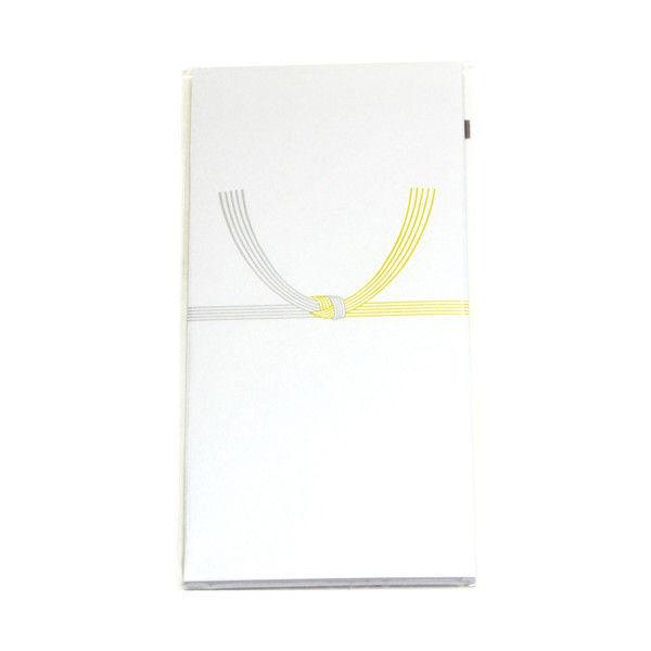 ササガワ のし袋 万型 黄水引 無字 仙貨紙 6-2561 200枚(10枚袋入×20冊箱入) (取寄品)