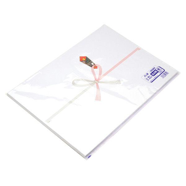ササガワ タカ印 のし紙 B4判 祝 山 3-404 500枚(100枚袋入×5冊包) (取寄品)