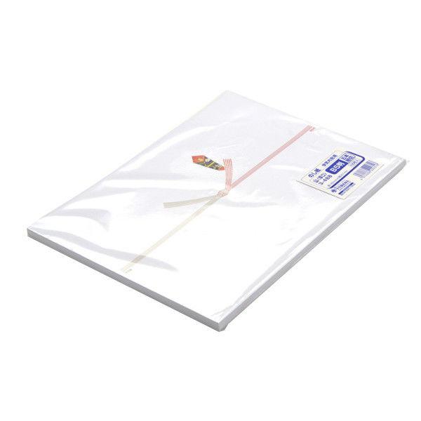 ササガワ のし紙 B5判 五本結切 山 3-488 500枚(100枚袋入×5冊包) (取寄品)