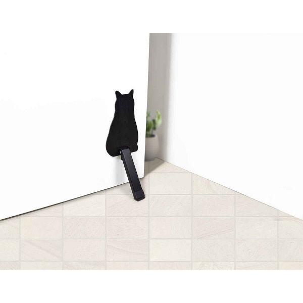 ネコのドアストッパー マグネット 玄関