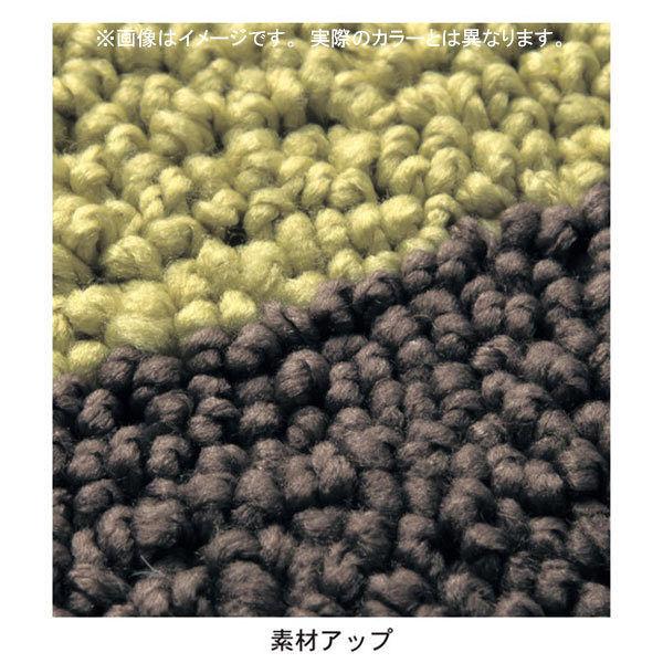 洗えるキッチンマットアイボリ65×120