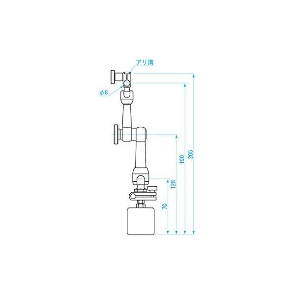 新潟精機 SK ミニマグネットベース MB-6