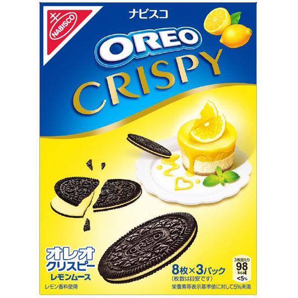 オレオクリスピーレモンムース 2箱