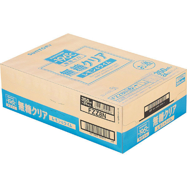 ?196℃無糖クリアレモン&ライム24缶