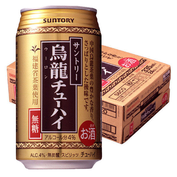 烏龍チューハイ 335ml 24缶