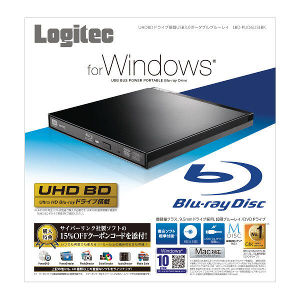 BDドライブ LBD-PUD6U3LBK