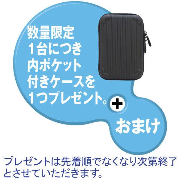 『カクうす』ポータブルHDD 4TB 黒