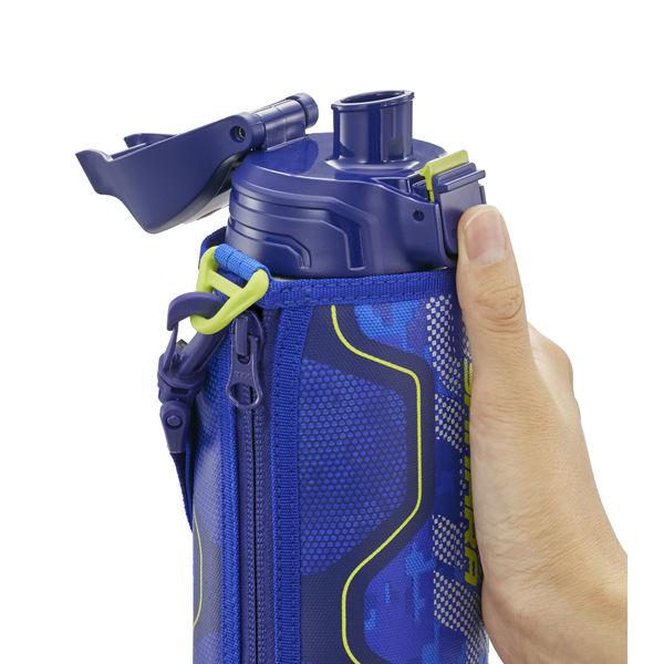 ステンレスボトル2WAY 0.8Lブルー