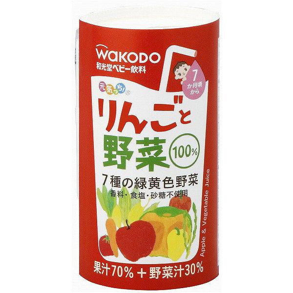 元気っち! りんごと野菜 6パック