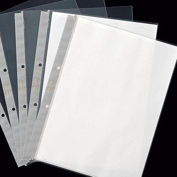 リヒトラブ ルポ・リーンフォース・クリヤーポケット(A4) 台紙有り N2008 1袋(10枚入)