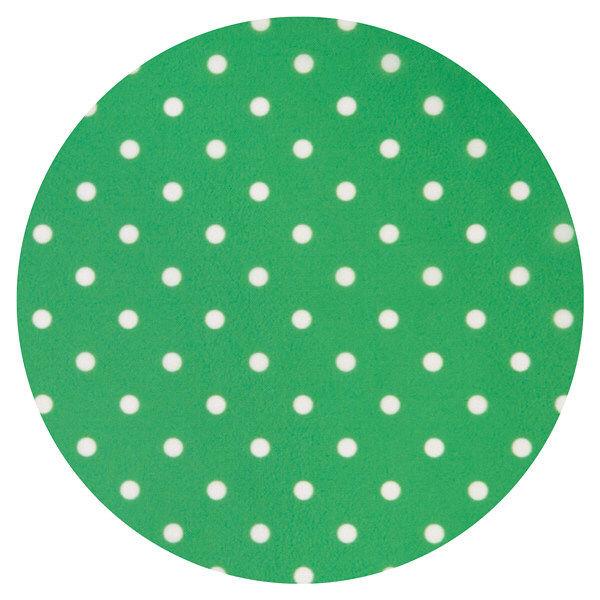 食事用エプロン 水玉柄 グリーン