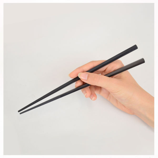 六角形で持ちやすい箸23cm 10膳