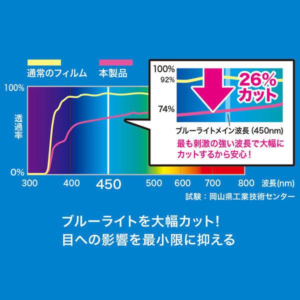 サンワサプライ 東芝 dynabook R82対応ブルーライトカット液晶保護指紋反射防止フィルム 1枚 (直送品)