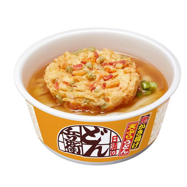 日清のどん兵衛かき揚げ天ぷらうどん12食