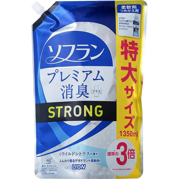 ソフラン 消臭ストロング詰替特大 6個