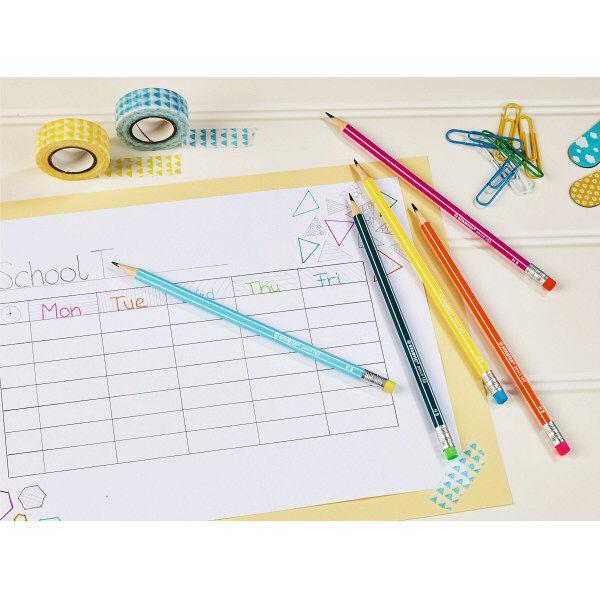 鉛筆 ペンシル160 HB 4本