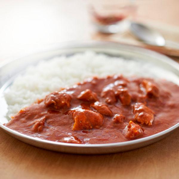 素材を生かしたカレー3種の唐辛子とチキン