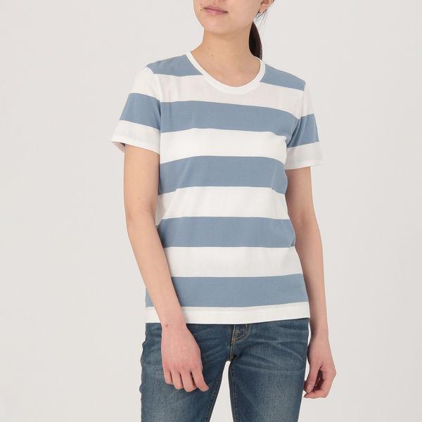 無印 クルーネック半袖Tシャツ 婦人S