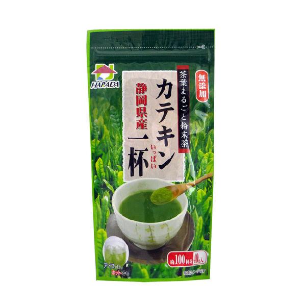 静岡産 粉末茶カテキン一杯 40g×3袋