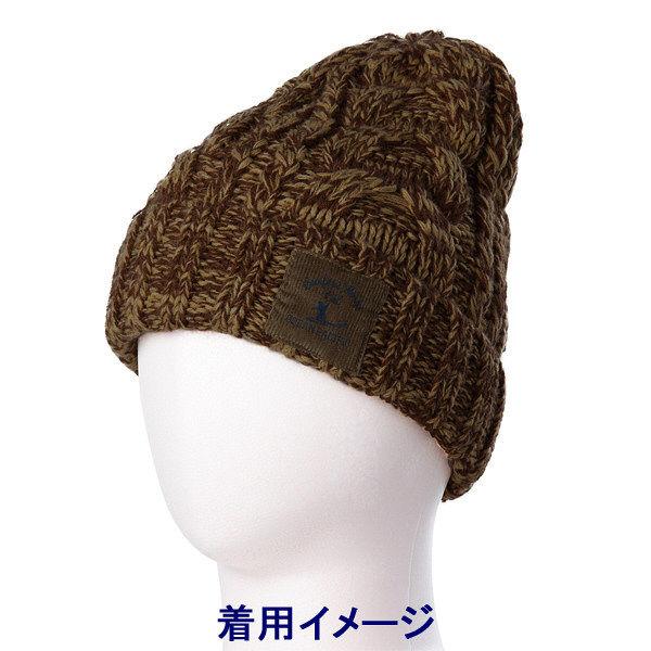 ブラウン メンズ 杢ニット帽