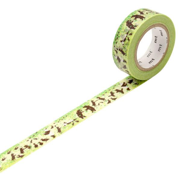 マスキングテープ mt ピクニック 緑