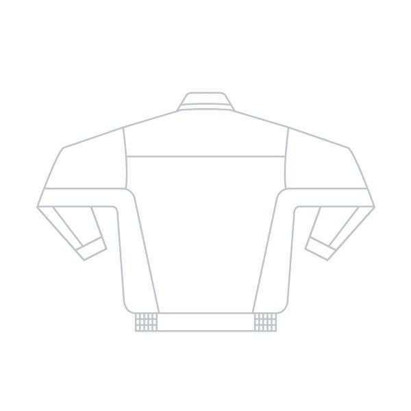 ミドリ安全 ベルデクセルフレックス 長袖ブルゾン VE51上 シルバー×チャコール 5L 1着(直送品)