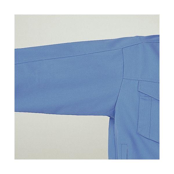 ミドリ安全 綿ブルゾン G363 上 ライトブルー M  1着(直送品)