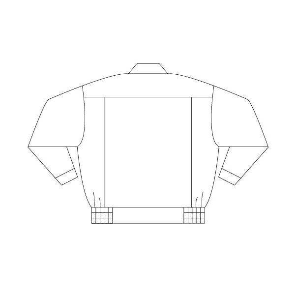 ミドリ安全 男女ペアブルゾン G561 上 シルバーグレー S  1着(直送品)
