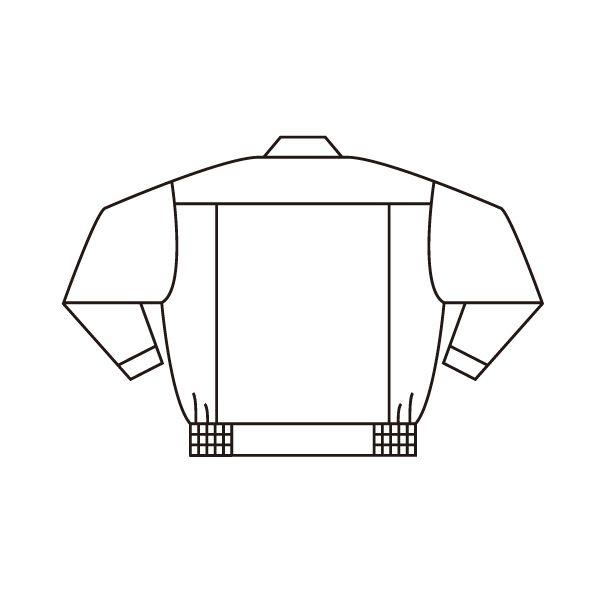 ミドリ安全 エコ帯電防止 男女ペアブルゾン RC580 上 ベージュ 3L 1着(直送品)