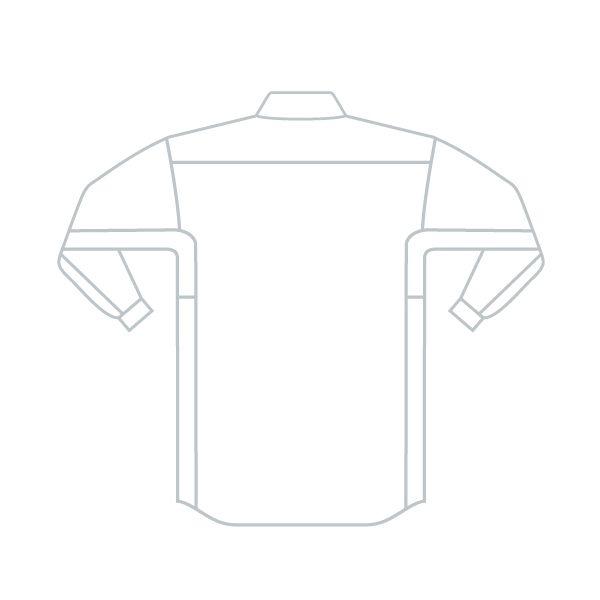 ミドリ安全 ベルデクセルフレックス 男女兼用長袖シャツ VES261上 シルバーグレー M 1着(直送品)