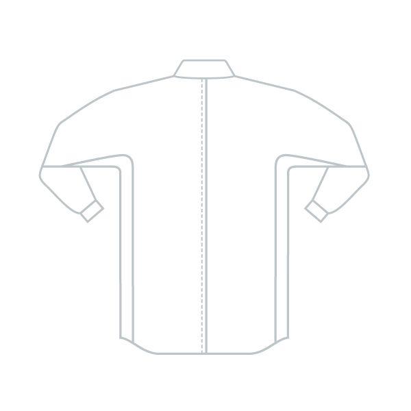 ミドリ安全 ベルデクセル IEC対応高機能男女ペア長袖シャツ VES281上 シルバーグレー S 1着(直送品)