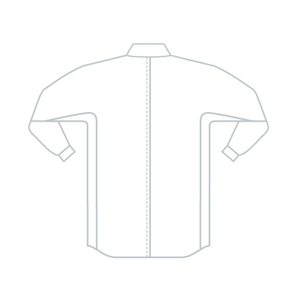 ミドリ安全 ベルデクセル IEC対応高機能男女ペア長袖シャツ VES281上 シルバーグレー LL 1着(直送品)