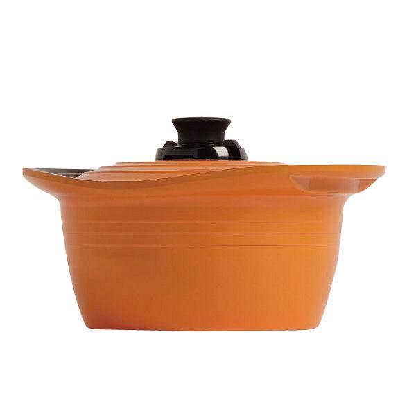 アイリスオーヤマ 無加水鍋 24cm深型