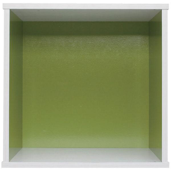 サイコロ型カラーボックス