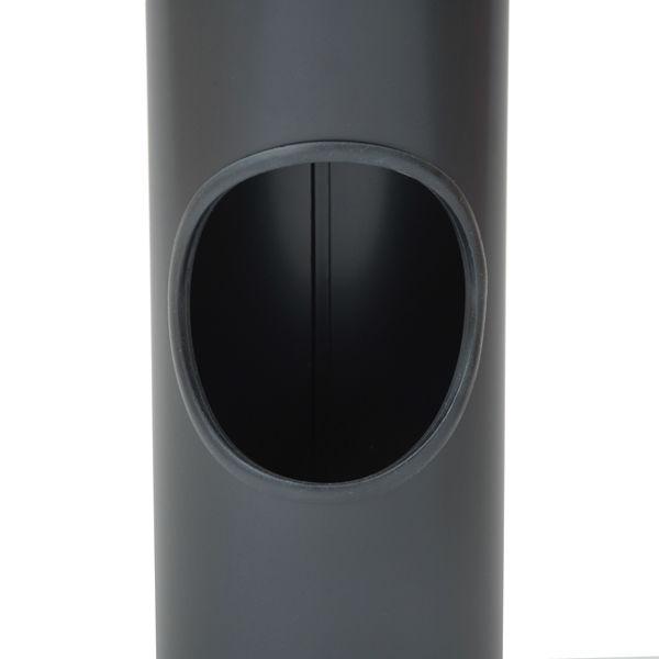 インテリア灰皿クロ Q4T77 (直送品)
