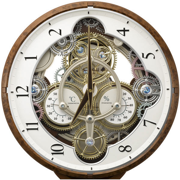 リズム時計 スモールワールドシーカー