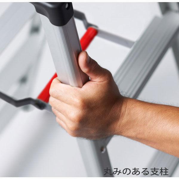 Hasegawa(長谷川工業) アルミ合金 軽量専用脚立 脚軽130 6段 (6尺 169cm) RZ2.0-18 1台 (直送品)