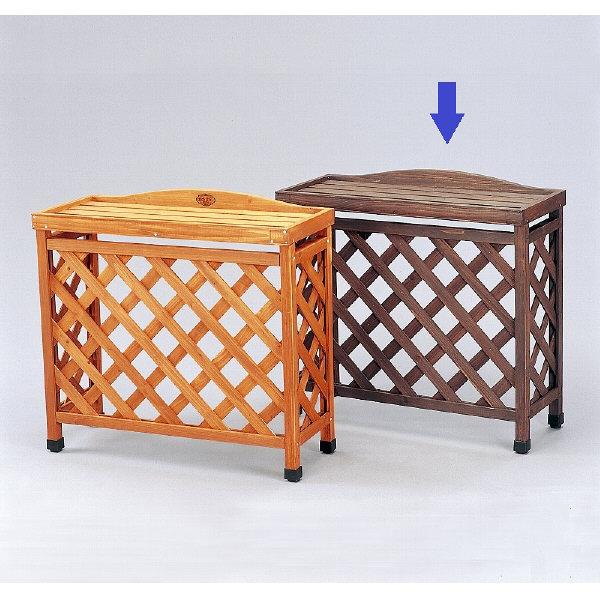 アイリスオーヤマ 木製室外機カバー