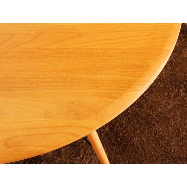 rool カフェテーブル ナチュラル 1台 東馬 (直送品)