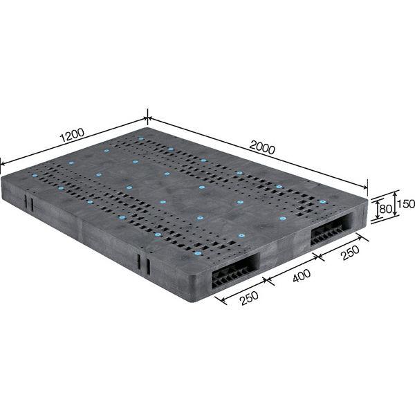 サンコー パレット R2-1220F 82400001GL803 (直送品)