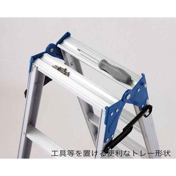 Hasegawa(長谷川工業) アルミ合金 軽量 はしご兼用脚立スタンダードタイプ 7段 (7尺 199cm) RD2.0-21 1台 (直送品)