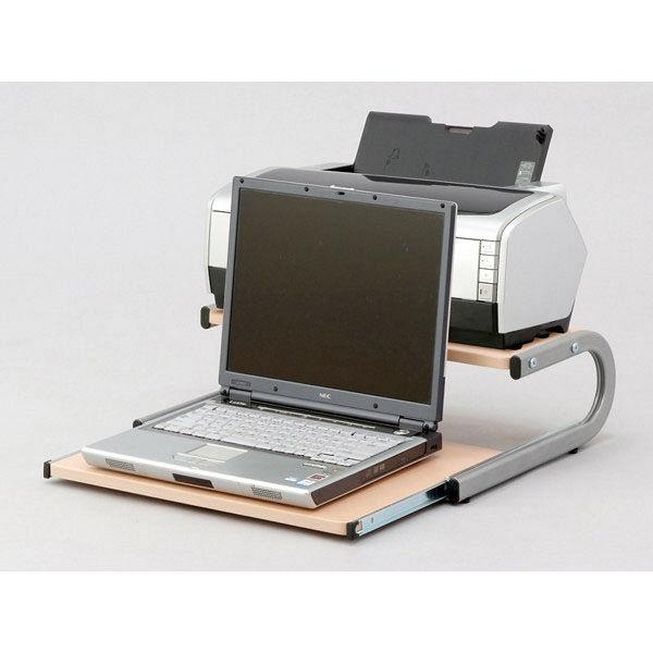 ナカバヤシ ノートスライダー ロータイプ ホワイト PDN-003W (直送品)