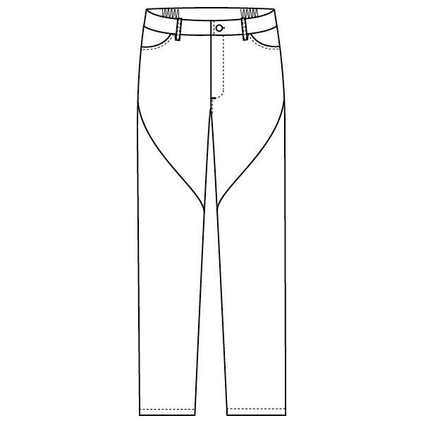 フォーク 医療白衣 ワコールHIコレクション スリムストレートパンツ HI301-3 リリスピンク S スクラブパンツ (直送品)