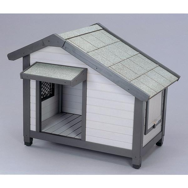 アイリスオーヤマ コテージ犬舎 グレー CGR-1080 1台 (直送品)
