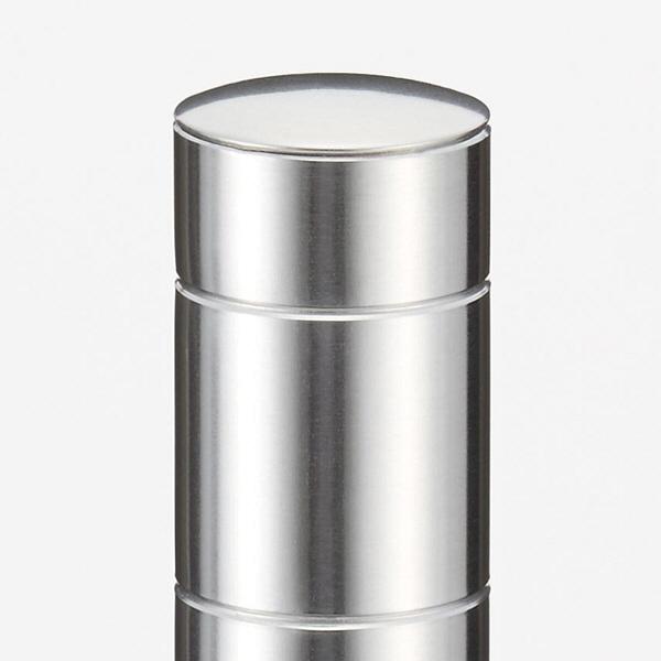 エレクター SUS304ステンレスポスト 高さ1000mm 1セット(2本入) (直送品)