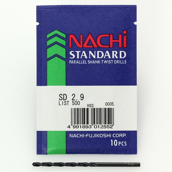 不二越 ストレートシャンクドリル SD8.1 1セット(10本) (直送品)