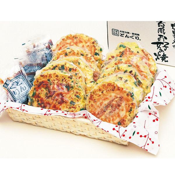 京都どんぐり 京野菜の入った京風お好み焼