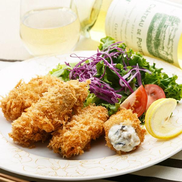 焼き牡蠣フライ&牡蠣クリームフライセット